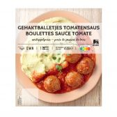 Delhaize Meat balls in tomato sauce (at your own risk, no refunds applicable)