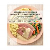 Delhaize Leg ham with mustard sauce (at your own risk, no refunds applicable)