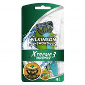 Wilkinson Sword Extreem 3 gevoelig scheermesjes