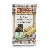 Paysan Breton Gevulde chocolade pannenkoeken (voor uw eigen risico, geen restitutie mogelijk)