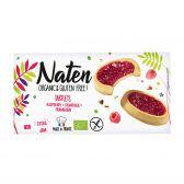 Naten Organic rapsberry cakes