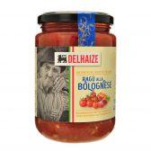 Delhaize Bolognaise kerstomaten pastasaus