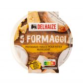 Delhaize 5 Kazen pastasaus (voor uw eigen risico, geen restitutie mogelijk)
