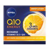 Nivea Visage Q10 energy night cream