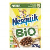 Nestle Nesquik organic chocolate breakfast cereals