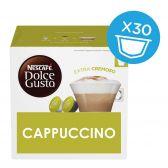 Nescafe Dolce gusto cappuccino XL coffee caps