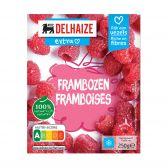 Delhaize Frambozen klein (alleen beschikbaar binnen de EU)