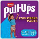 Huggies Pull ups explorer for boys (from 9 to 18 months)