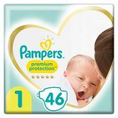 Pampers New born maat 1 luiers mid pack (vanaf 2 kg tot 5 kg)