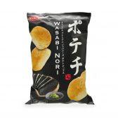 Koikeya Wasabi nori chips