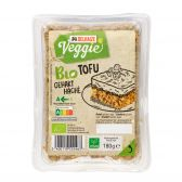 Delhaize Organic chopped tofu (at your own risk, no refunds applicable)