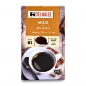 Delhaize Mild gemalen koffie