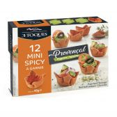 3 Toques Provencal spicy cups