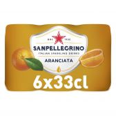 San Pellegrino Aranciata limonade 6-pack