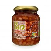 Delhaize Organic white beans in tomato sauce