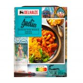 Delhaize Indian rice with chicken tikka masala (at your own risk, no refunds applicable)