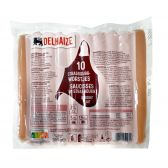 Delhaize Sausages from Straatsburg