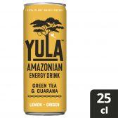 Yula Lemon ginger energy drink