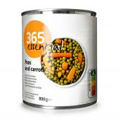 Delhaize 365 Peas and carrots