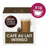 Nescafe Dolce gusto cafe au lait intenso coffee caps