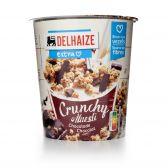 Delhaize Crunchy muesli with chocolate