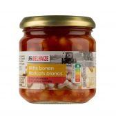 Delhaize White beans in tomato sauce small