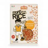 Perdon Rijst met kikkererwten en linzen