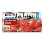 Delhaize Peeled tomato cubes 3-pack