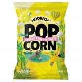 Moonpop Organic sweet salty popcorn large