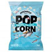 Moonpop Organic seasalt popcorn large