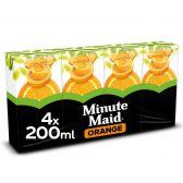 Minute Maid Orange juice 4-pack