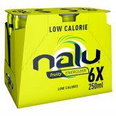 Nalu Fruity energizer lemonade 6-pack