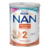 Nestle Nan verzadiging 2 melkpoeder (vanaf 6 tot 12 maanden)