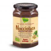 Nocciolata Biologische chocolade confituur zonder melk