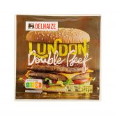 Delhaize London double beef burger (at your own risk, no refunds applicable)