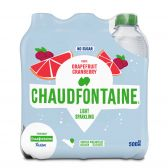 Chaudfontaine Fusion grapefruit and cranberry