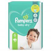 Pampers Baby dry maat 6 luiers (vanaf 13 kg tot 18 kg)
