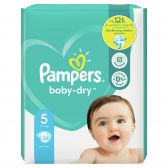 Pampers Baby dry size 5 diapers (from 11 kg to 16 kg)