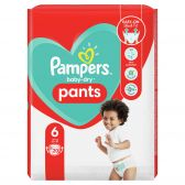 Pampers Baby dry pants size 6 mid pack