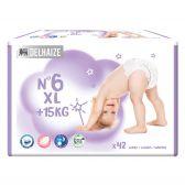 Delhaize Care ecologische XL luiers maat 6