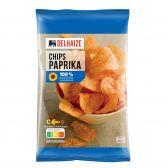 Delhaize Paprika chips groot