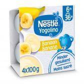 Nestle Baby yogo banaan yoghurt (vanaf 6 maanden)