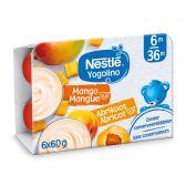 Nestle Yogolino abrikoos en mango yoghurt (vanaf 8 maanden)
