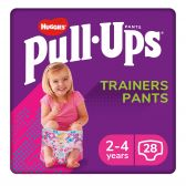 Huggies Pull ups trainers for girls (from 2 to 4 year)