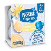 Nestle Baby vanille dessert (vanaf 6 maanden)