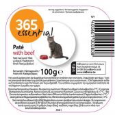 Delhaize 365 Beef pate cat food