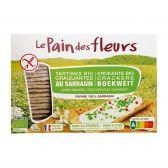 Le Pain des Fleurs Organic buckwheat cracker