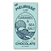 Meurisse Biologische ecologische melkchocolade karamel en zeezout fair trade
