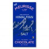 Meurisse Biologische ecologische pure chocolade roze himalaya zout fair trade