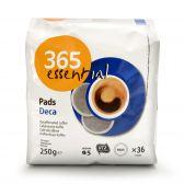 Delhaize 365 Decaf coffee pods